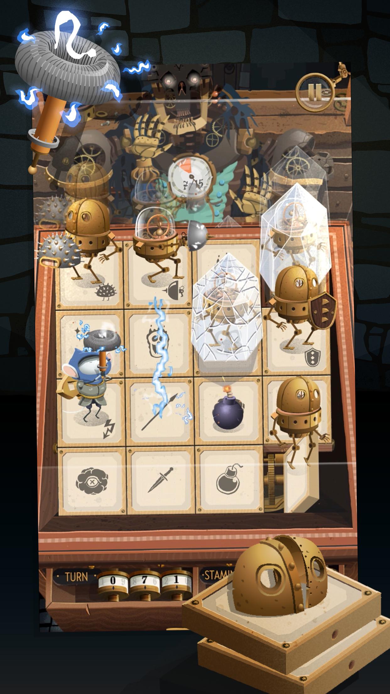迷宫机械游戏截图