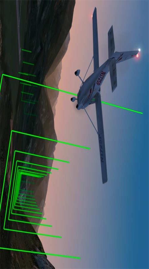 专业模拟飞行游戏截图