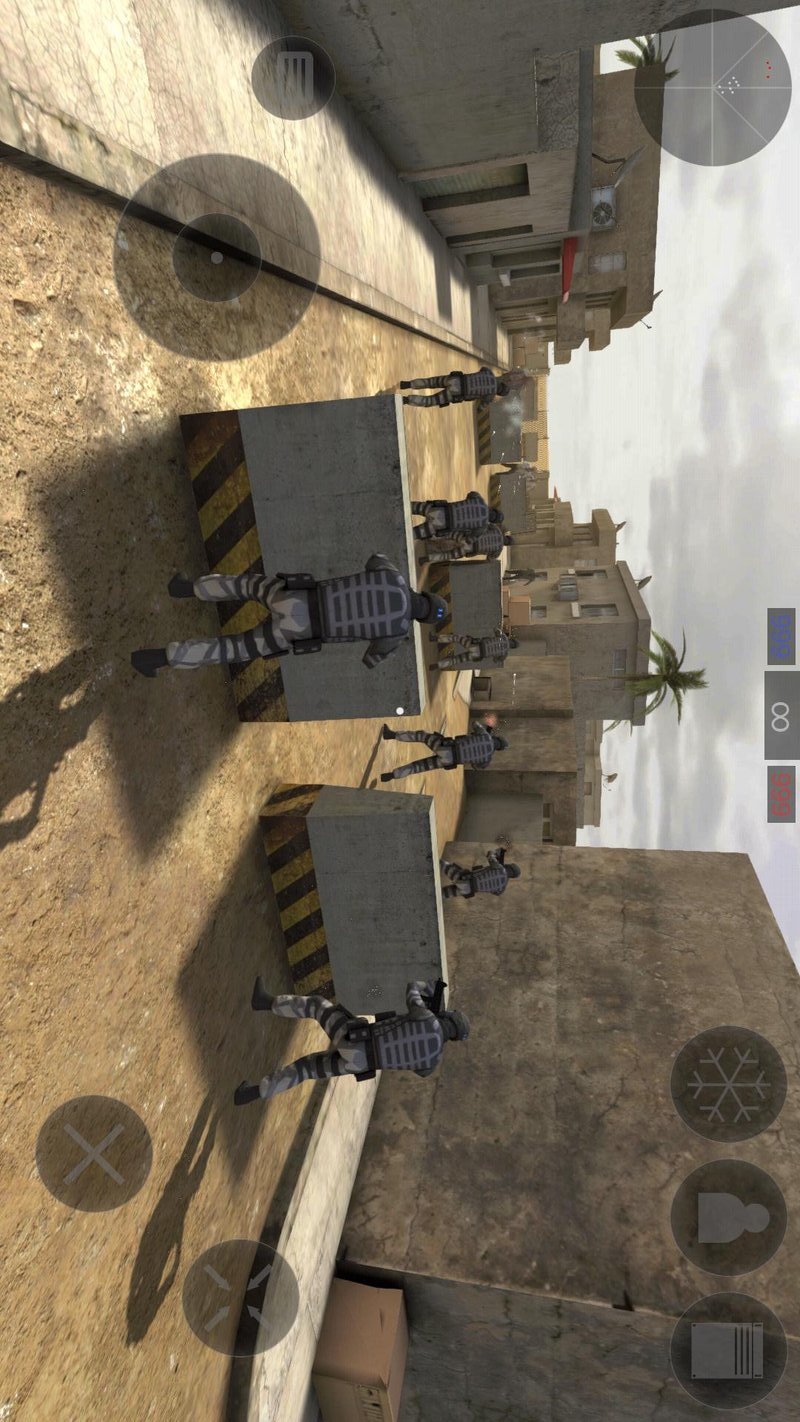 僵尸作战模拟加强游戏截图