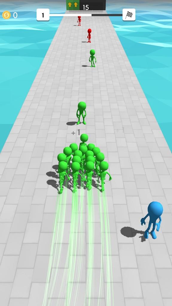 人群赛跑者游戏截图