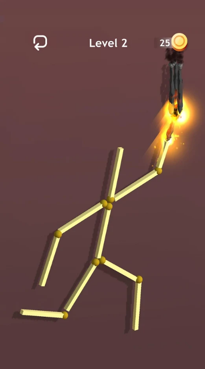 燃烧火柴ASMR游戏截图