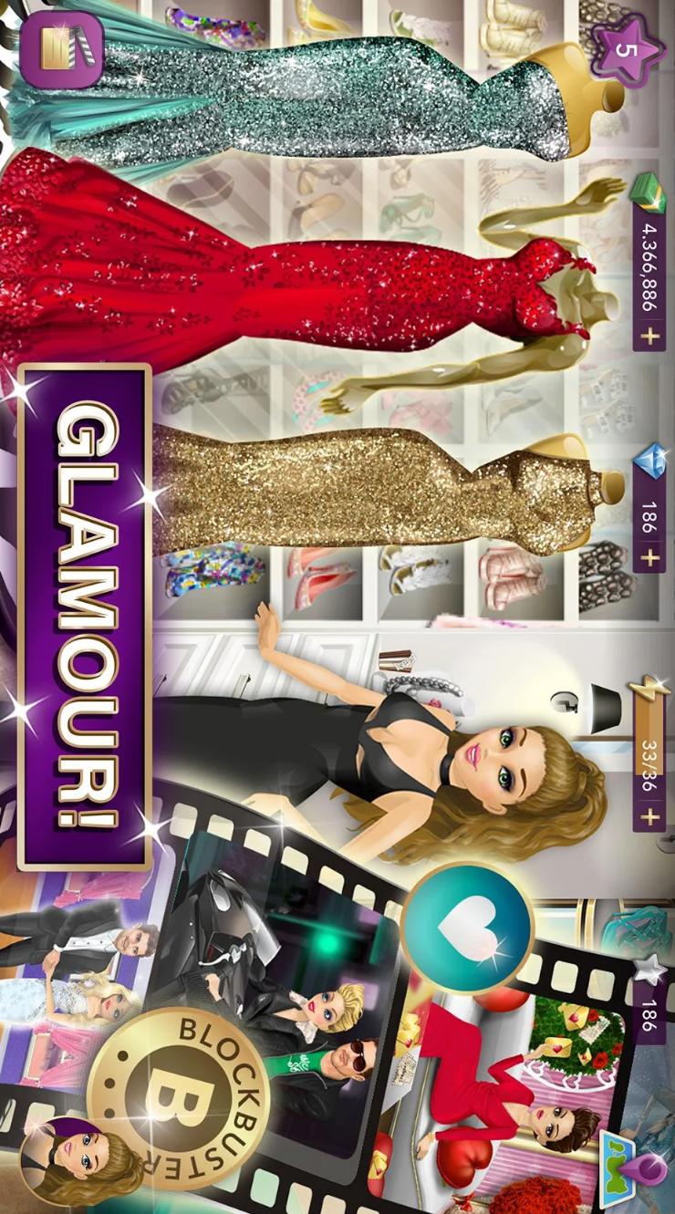 好莱坞物语:时尚明星游戏截图