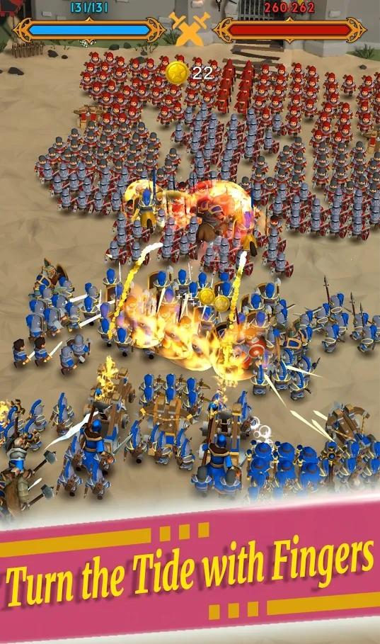 闲置的军团游戏截图