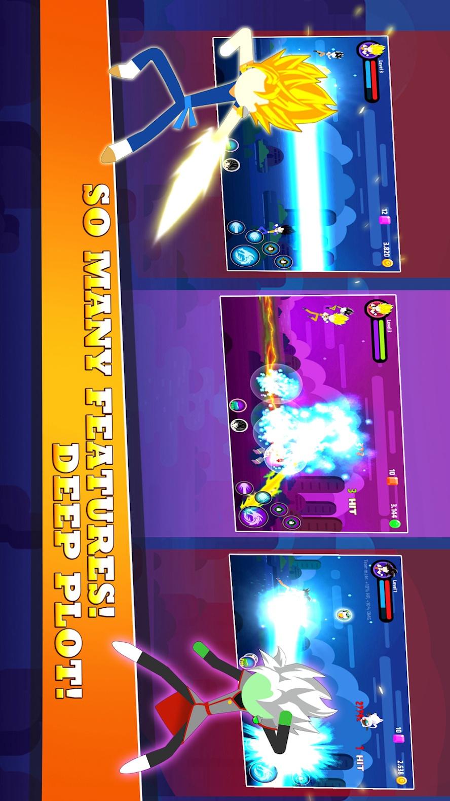 火柴人超级战争游戏截图