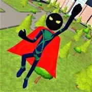 火柴人超级英雄图标