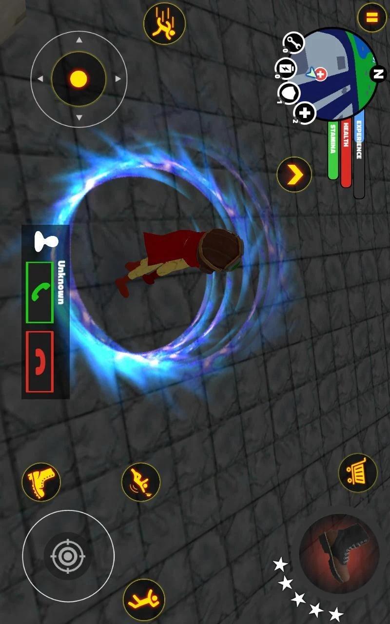 火柴人超级英雄游戏截图