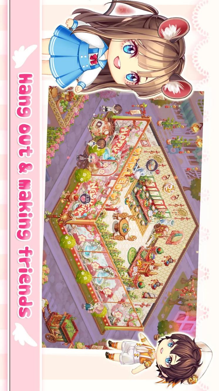 可爱的房屋设计游戏截图