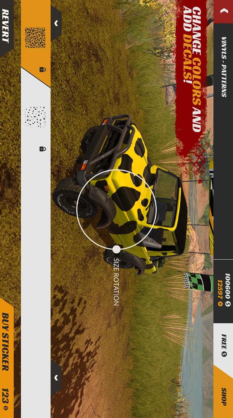 越野4X4碰撞游戏截图