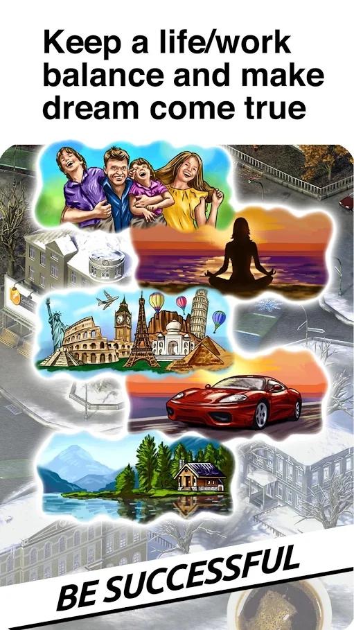 时间和金钱模拟游戏游戏截图