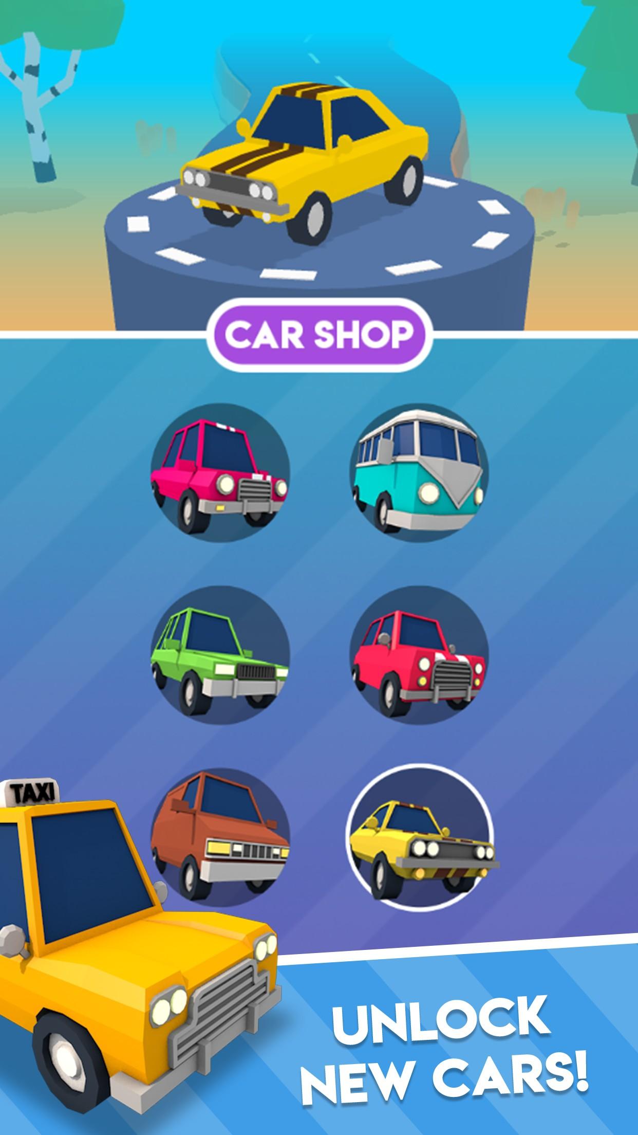 疯狂的汽车游戏截图