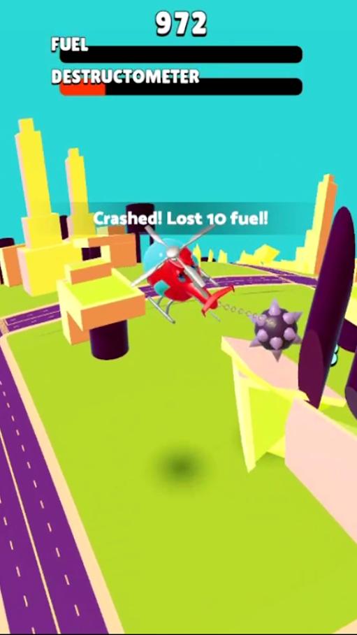 恶魔直升机游戏截图