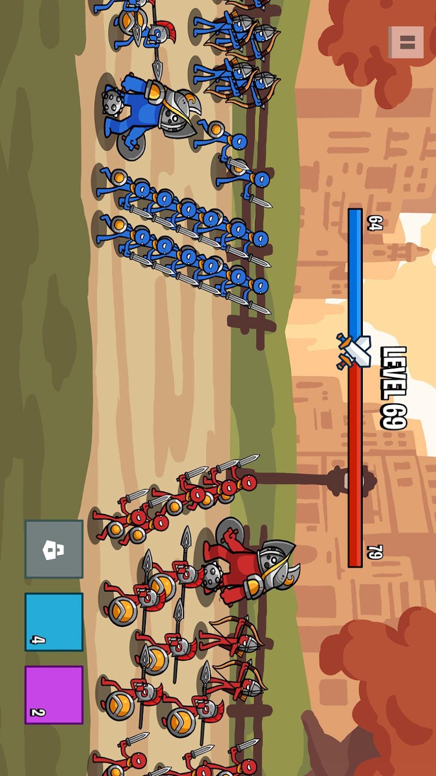 火柴人战争2:军团之战游戏截图