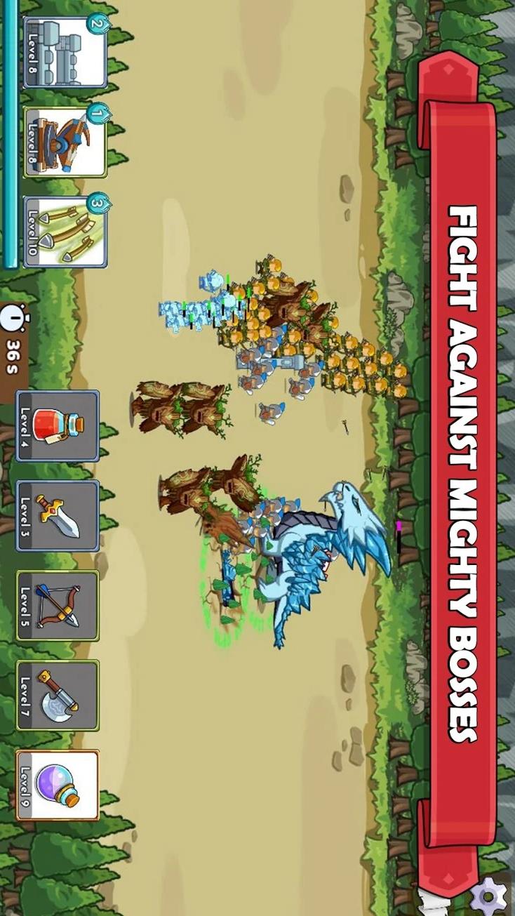 军团冲突:王国崛起游戏截图