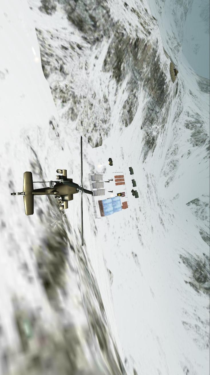 武装直升机模拟机:3D战斗空袭游戏截图