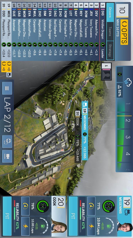 赛车运动经理游戏截图