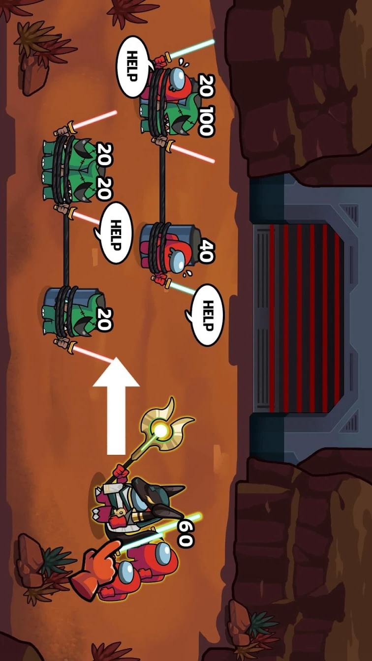 拯救冒名顶替者:银河救援游戏截图