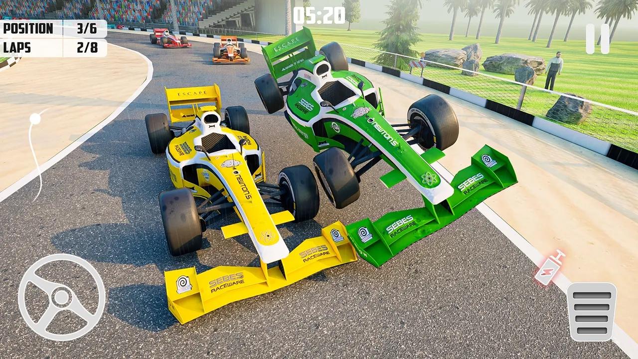 2021方程式赛车游戏截图
