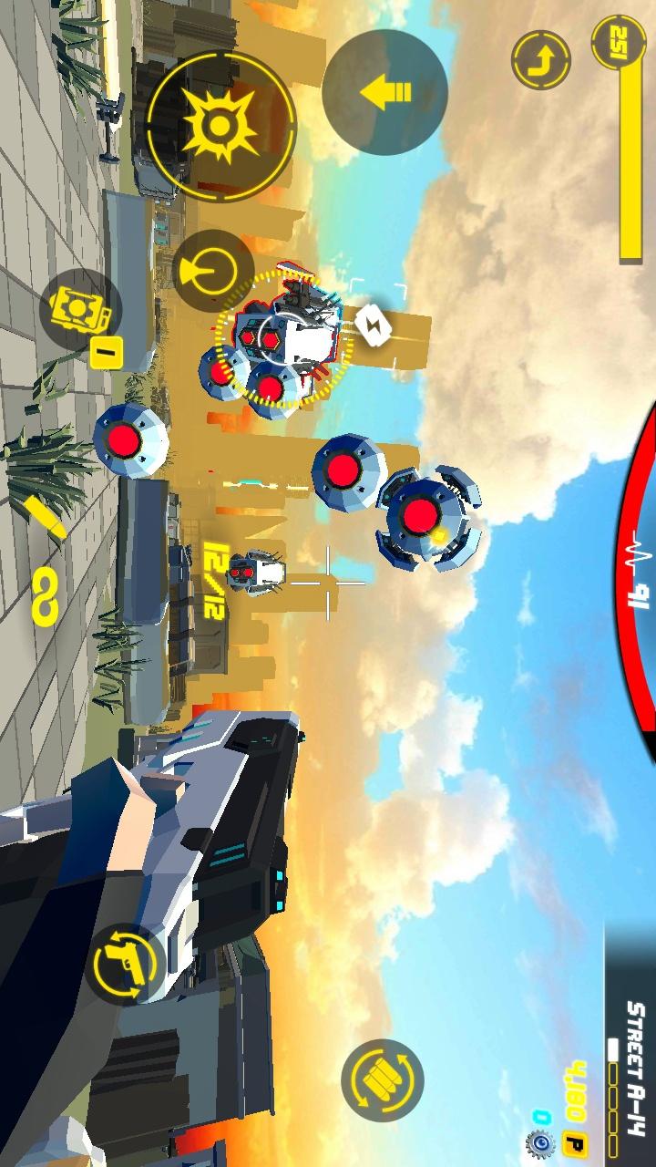 枪火:城市英雄游戏截图