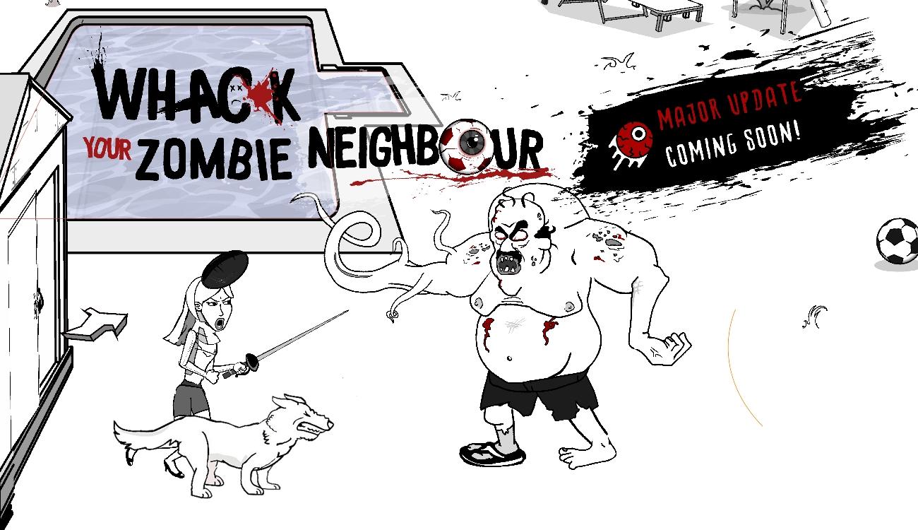 干掉你的僵尸邻居游戏截图