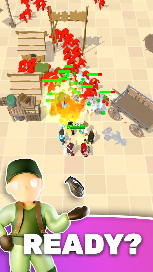 英雄小队(快手蘑菇头推荐)游戏截图