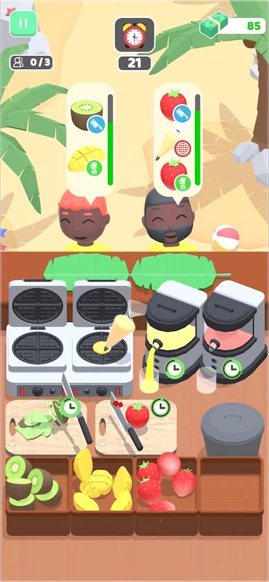 我的美食车3D游戏截图